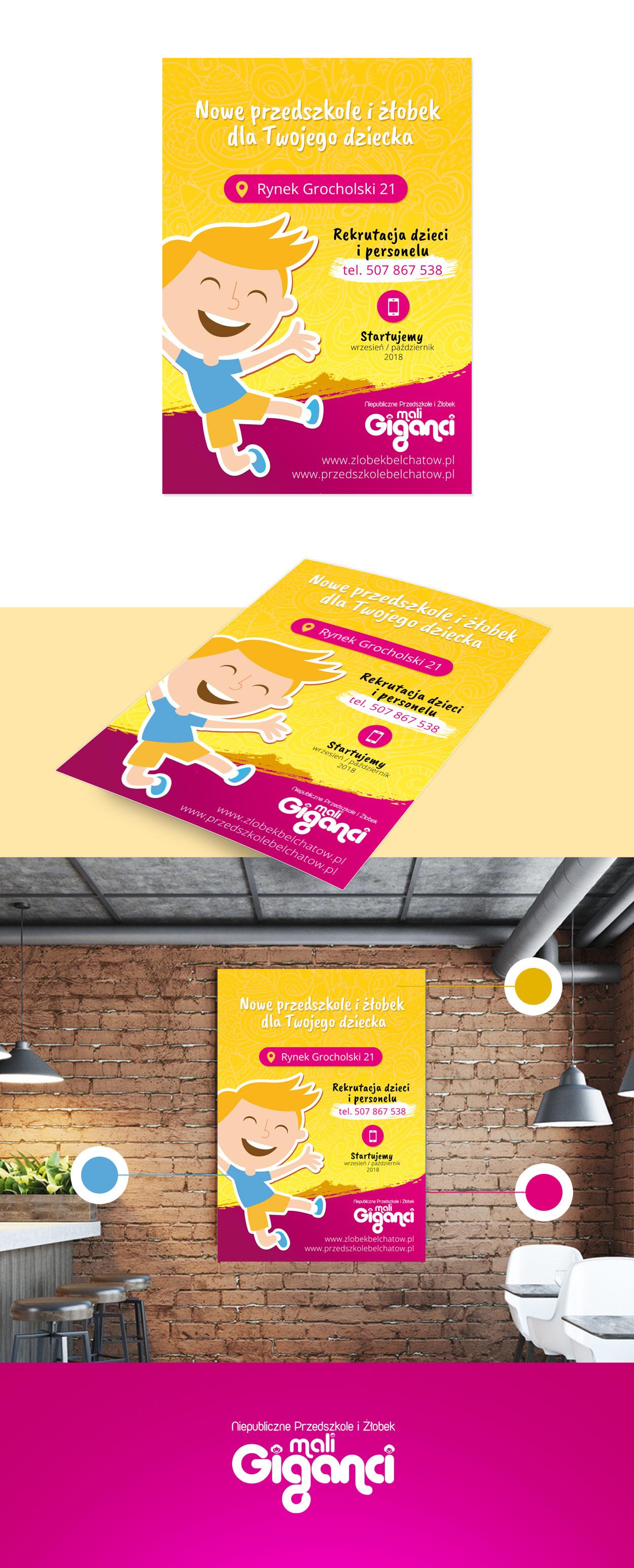 projekt-plakatu-przedszkole-mali-giganci