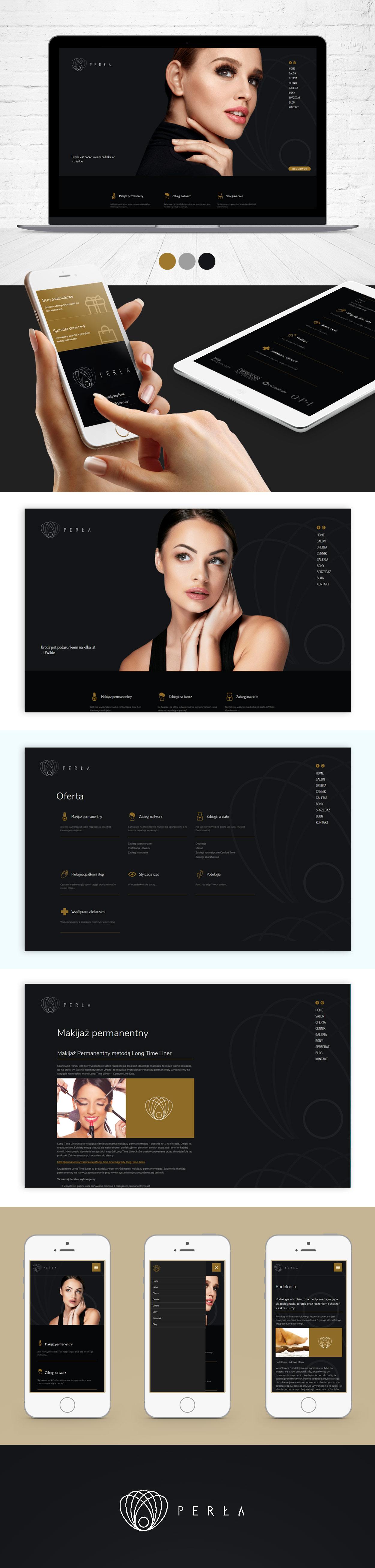 strona-www-dla-salonu-kosmetycznego-perla