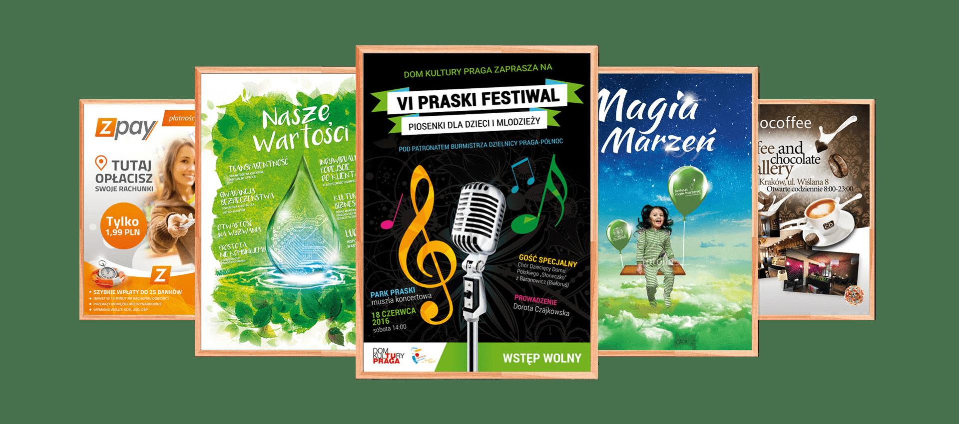 Plakaty reklamowe 2019