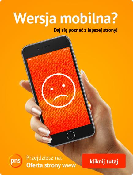 Mobilne strony www baner