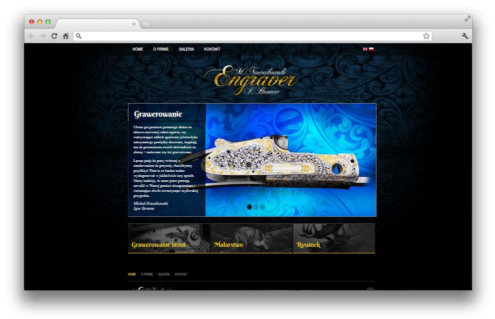 5e7bd818e8341 Projektowanie stron www - Engraver - GrupaPNS - kreatywność dla firm ...