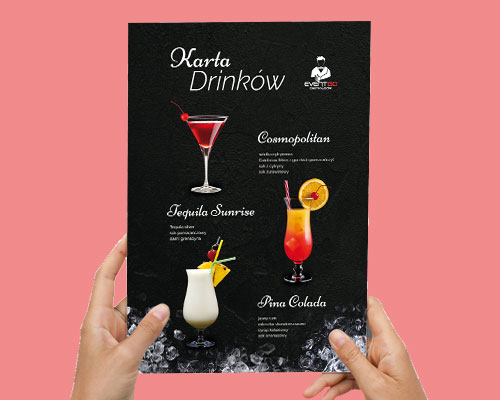 karta menu drinkow projekt eventgo min - Projekt menu / karty drinków - EventGO