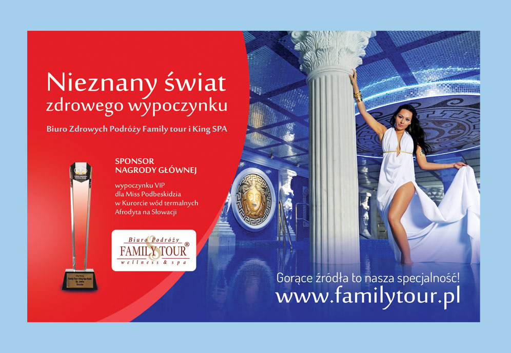 Projekty Graficzne Biuro Podróży Familytour Grupapns Strony Www