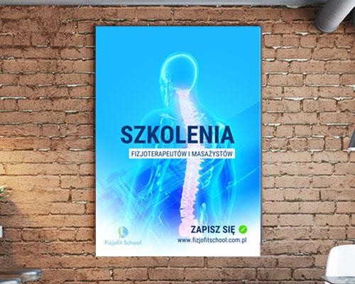 projekt-plakatu-dla-szkoly-fizjoschool