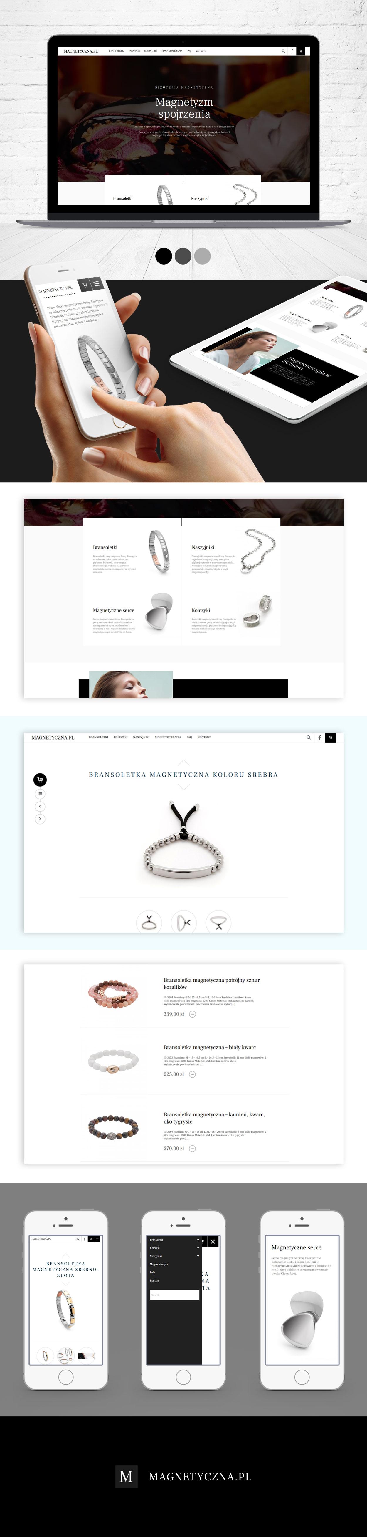 sklep internetowy bizuteria magnetyczna pl - Sklep internetowy z biżuterią magnetyczną - Magnetyczna.pl