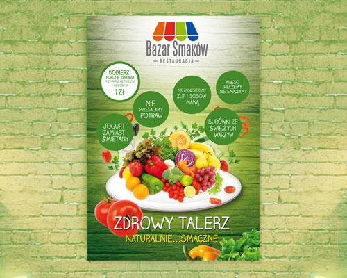 projekt-plakatu-reklamowego-restauracji-bazar-smakow-min