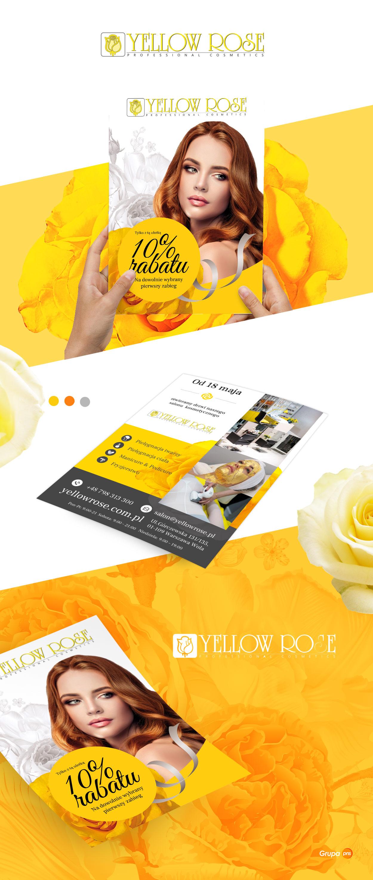projekt-ulotki-dla-salonu-kosmetycznego-yellow-rose