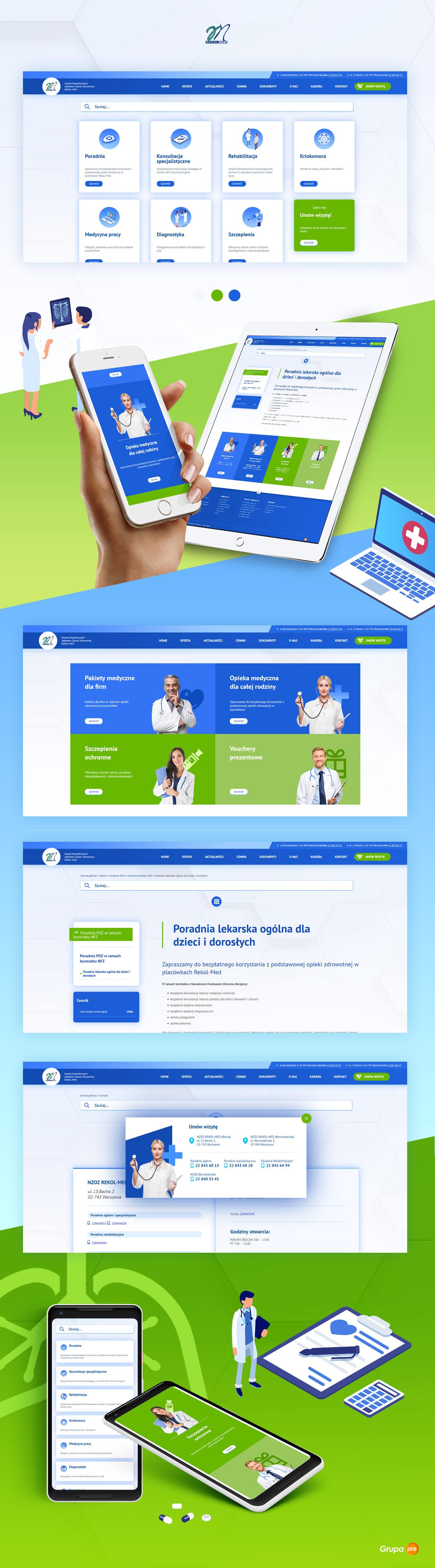 strona-www-dla-placowki-medyczej-nzoz-rekolmed