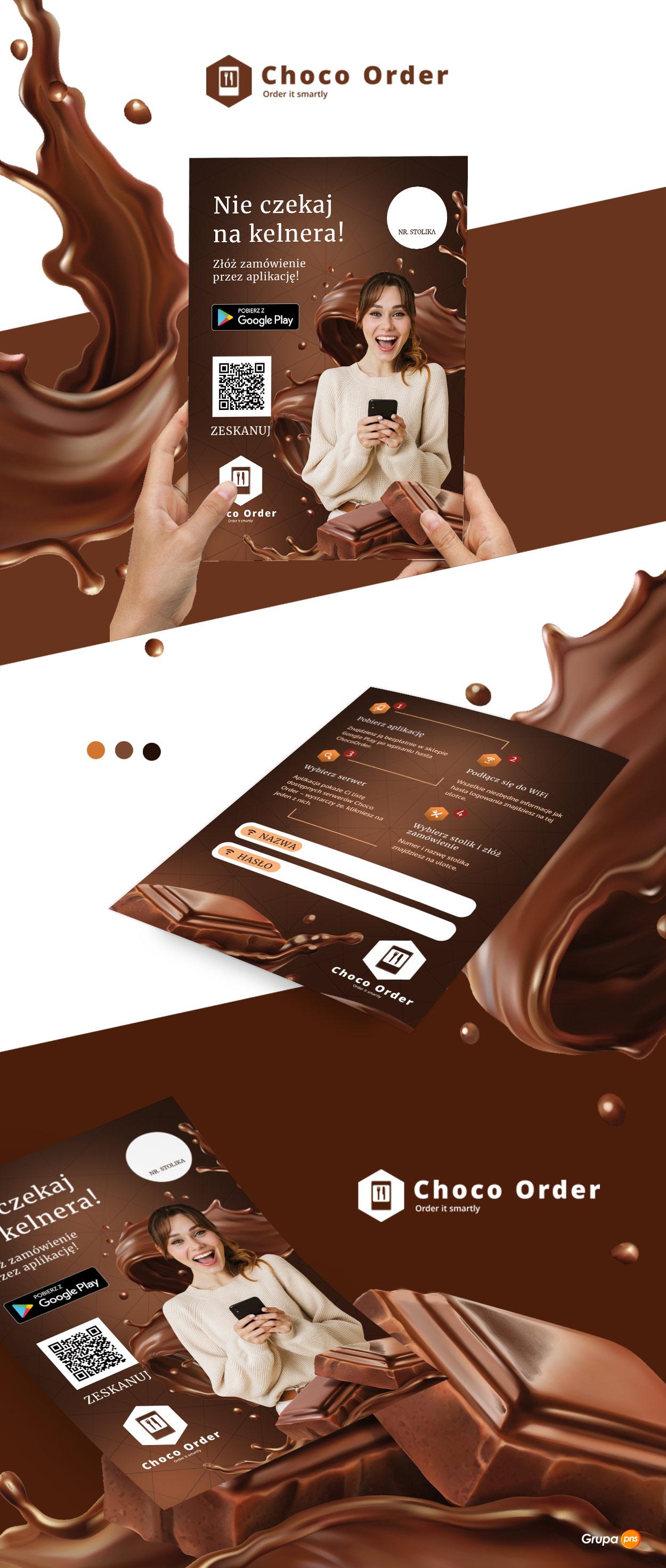 projekt-ulotki-dla-aplikacji-mobilnej-choco-order-dla-restauracji