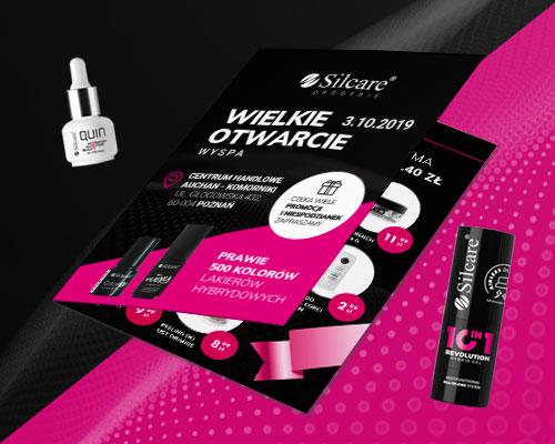 projekt-graficzny-ulotka-reklamowa-producent-kosmetykow-silcare-min