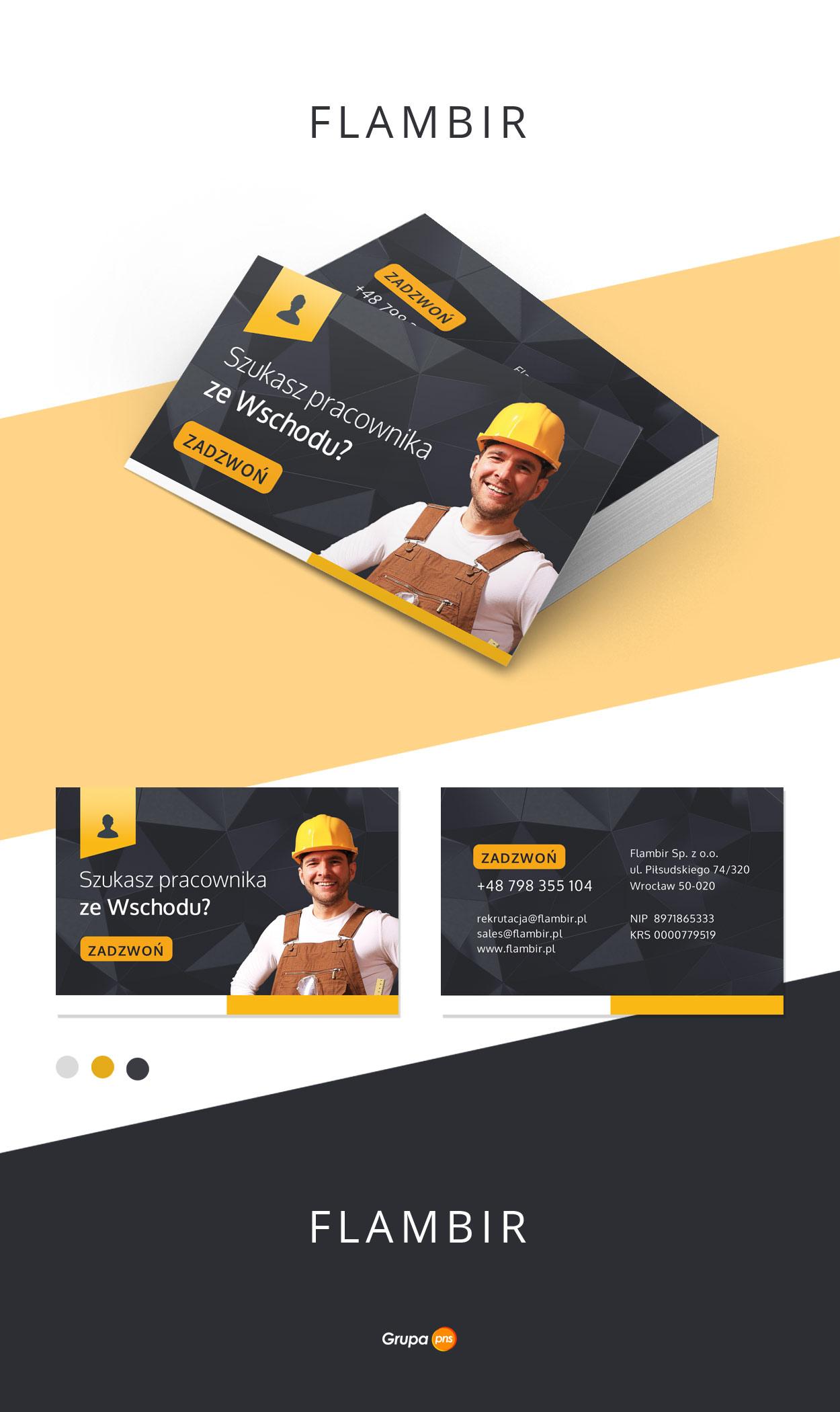 projekt-graficzny-wizytowki-firma-rekrutacyjna-flambir