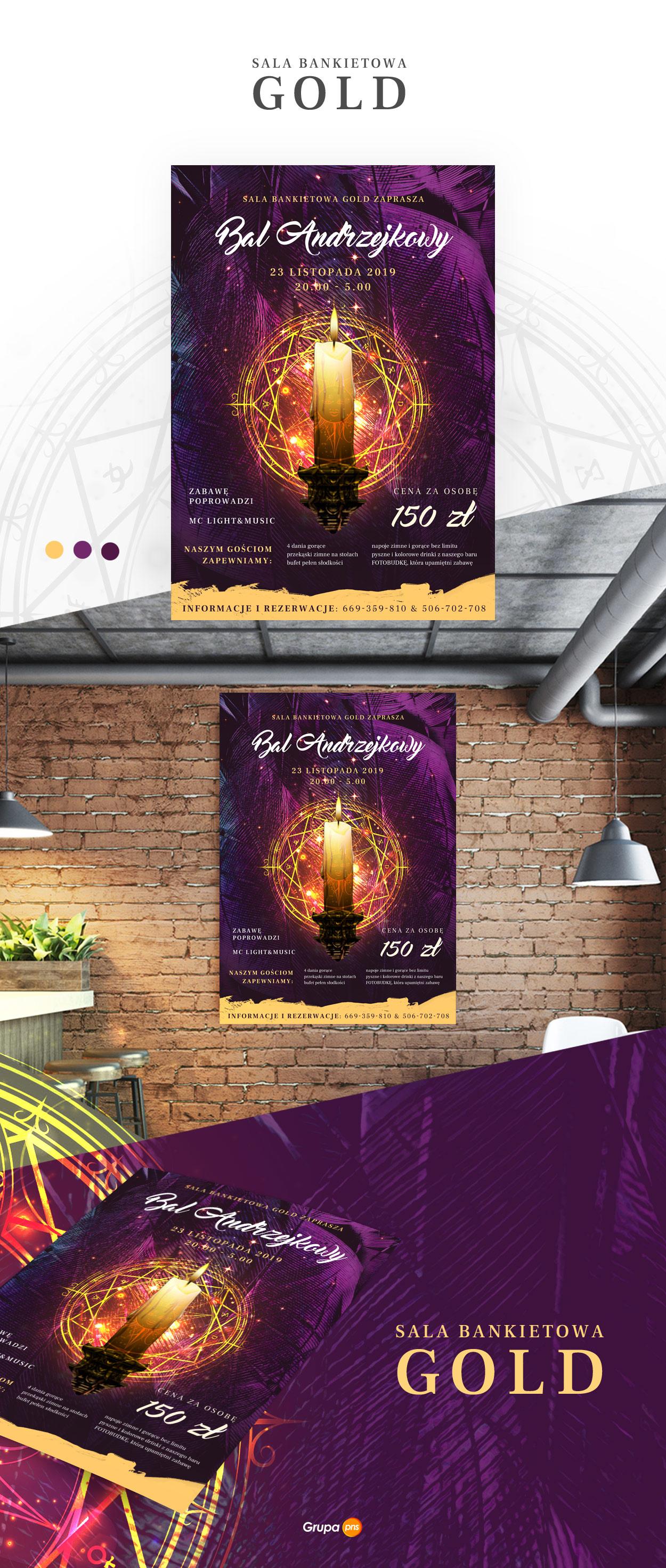 projekt-plakatu-na-andrzejki-sala-bankietowa-gold