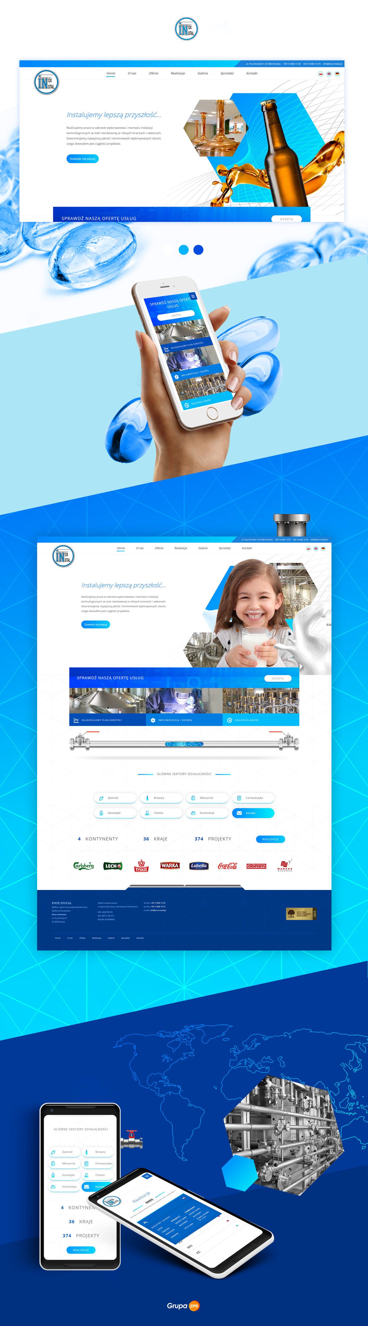 projektowanie-strona-www-przedsiebiorstwa-inox-instal