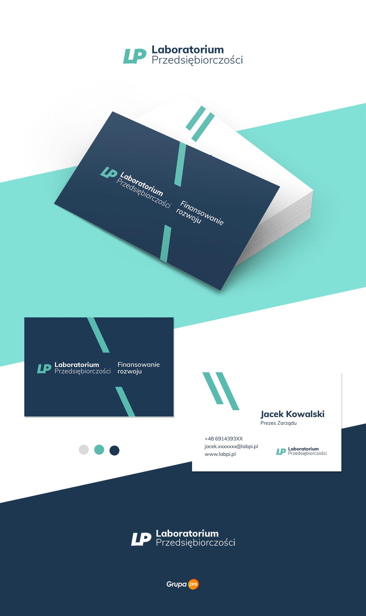 projekt-wizytowki-dla-firmy-laboratorium-przedsiebiorczosci