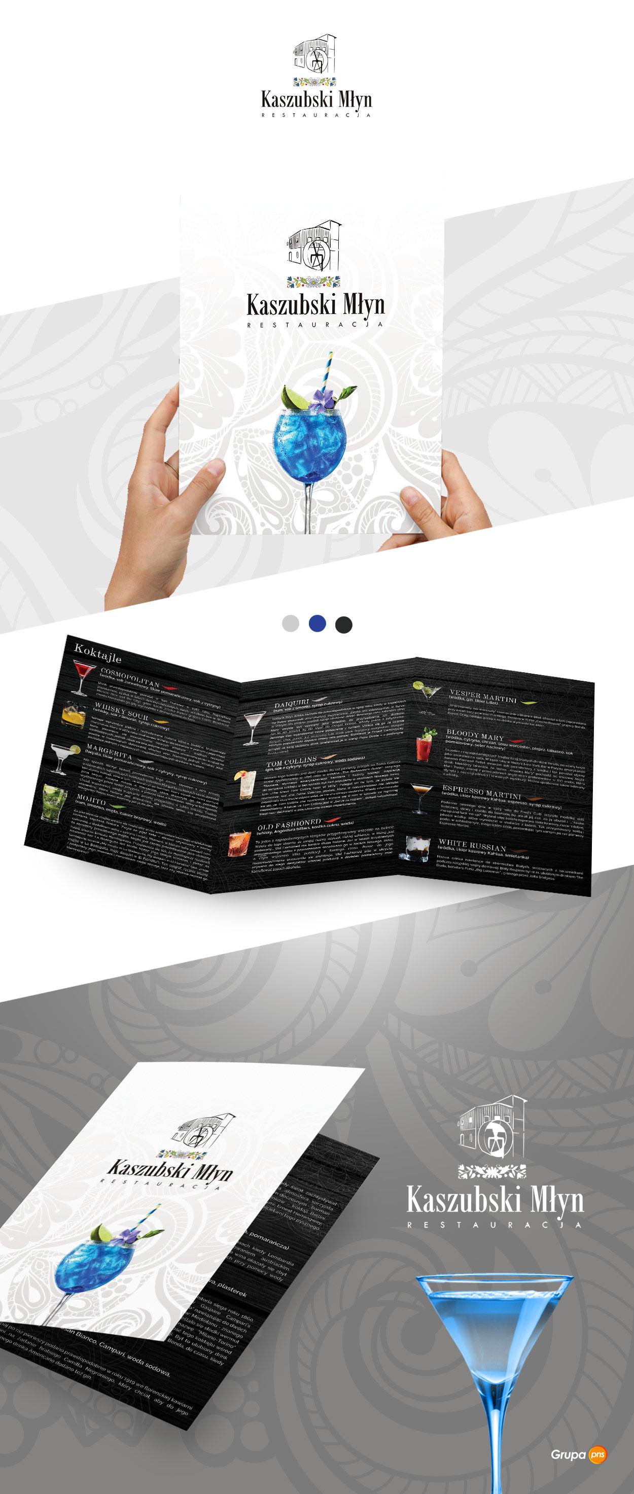 projekt-graficzny-karta-drinkow-dla-restauracji-kaszubski-mlyn