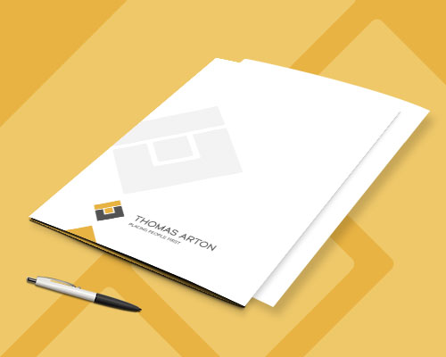 projekt teczki ofertowej thomas arton min - Teczka na dokumenty dla rekrutacji - Thomas Arton