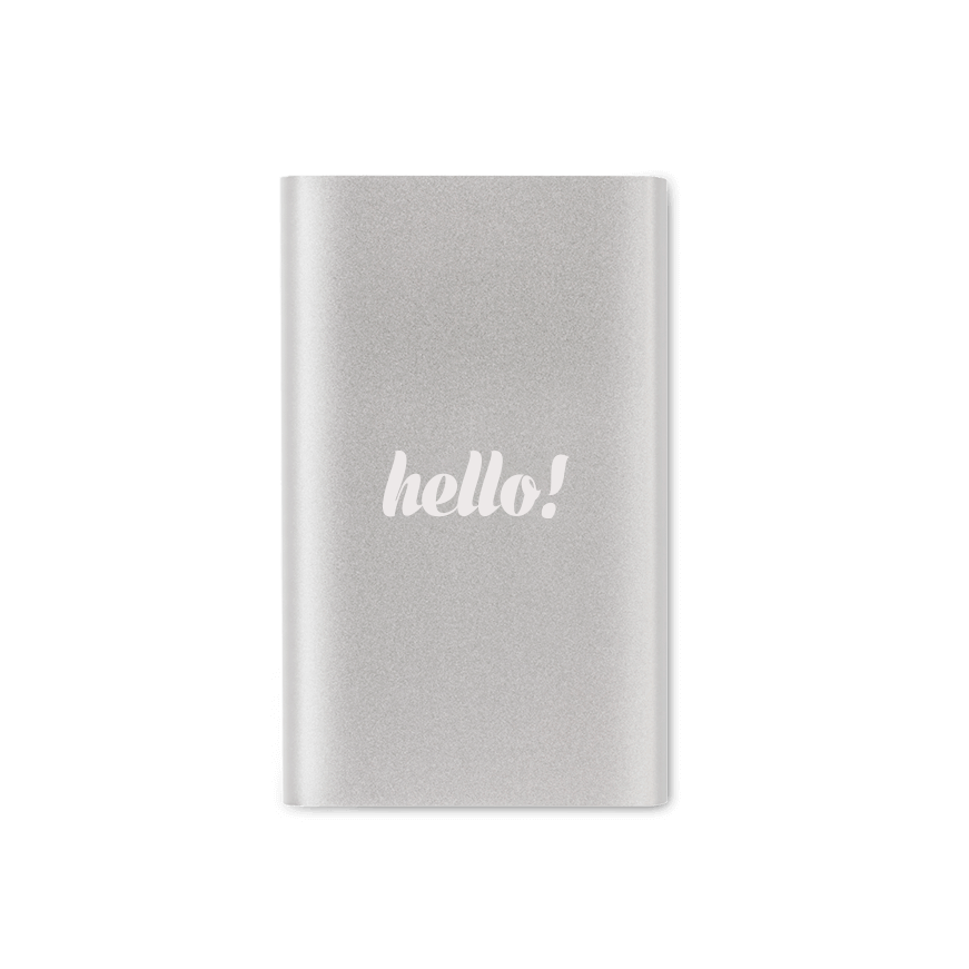 power bank z logo - Power bank z logo 4000mAh