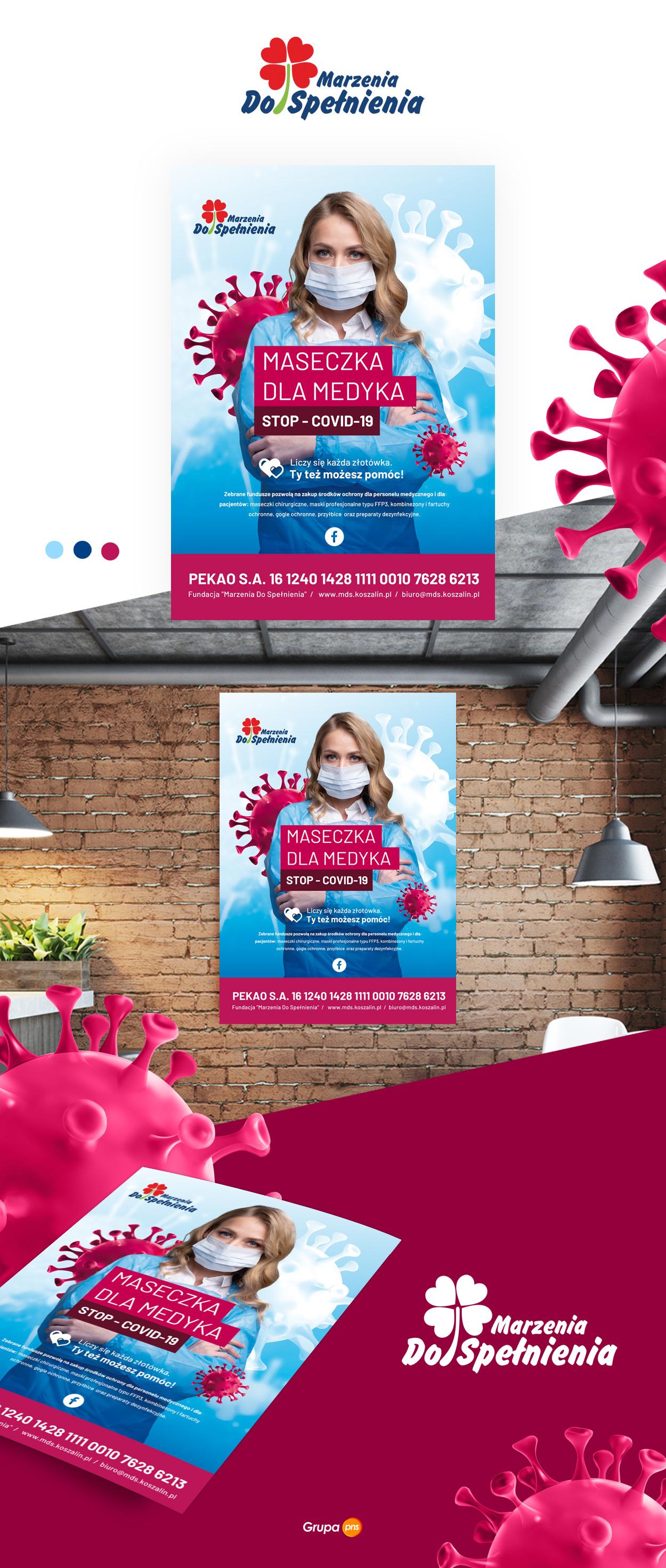 prjekt-plakatu-koronawirus-covid19-maseczka-dla-medyka