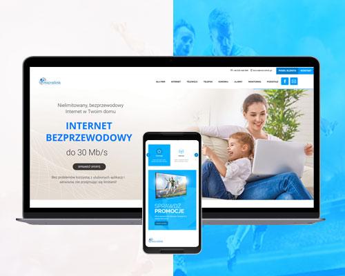 strona www dla lokalnego dostawcy internetu microlink min - Strona www dla lokalnego dostawcy internetu - Microlink