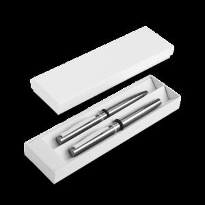 Zestaw 1 - długopis i pióro kulkowe z nadrukiem