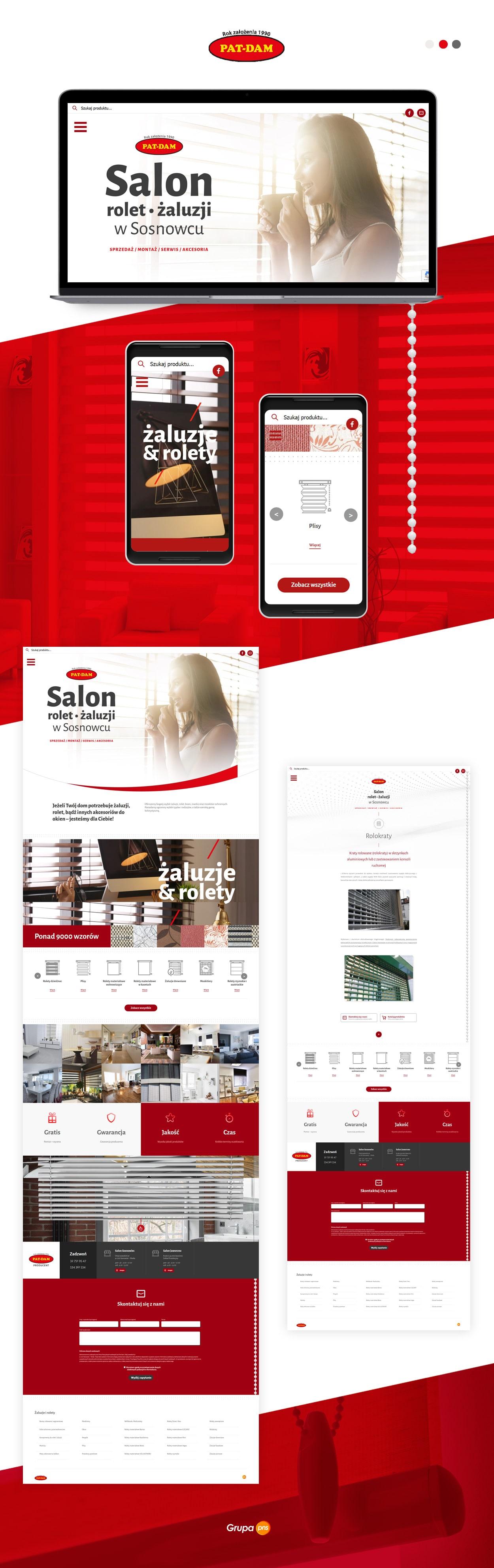projekt-strony-internetowej-dla-salonu-sprzedazy-rolet-patdam