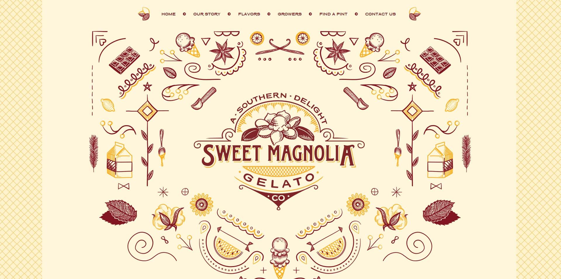 projektowanie-stron-www-inspiracje-Sweetmagnoliagelato