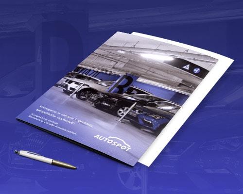 projekt graficzny teczki na dokumenty dealer samochodowy autospot min - Projekt teczki na dokumenty dla dealera samochodowego  - AutoSpot