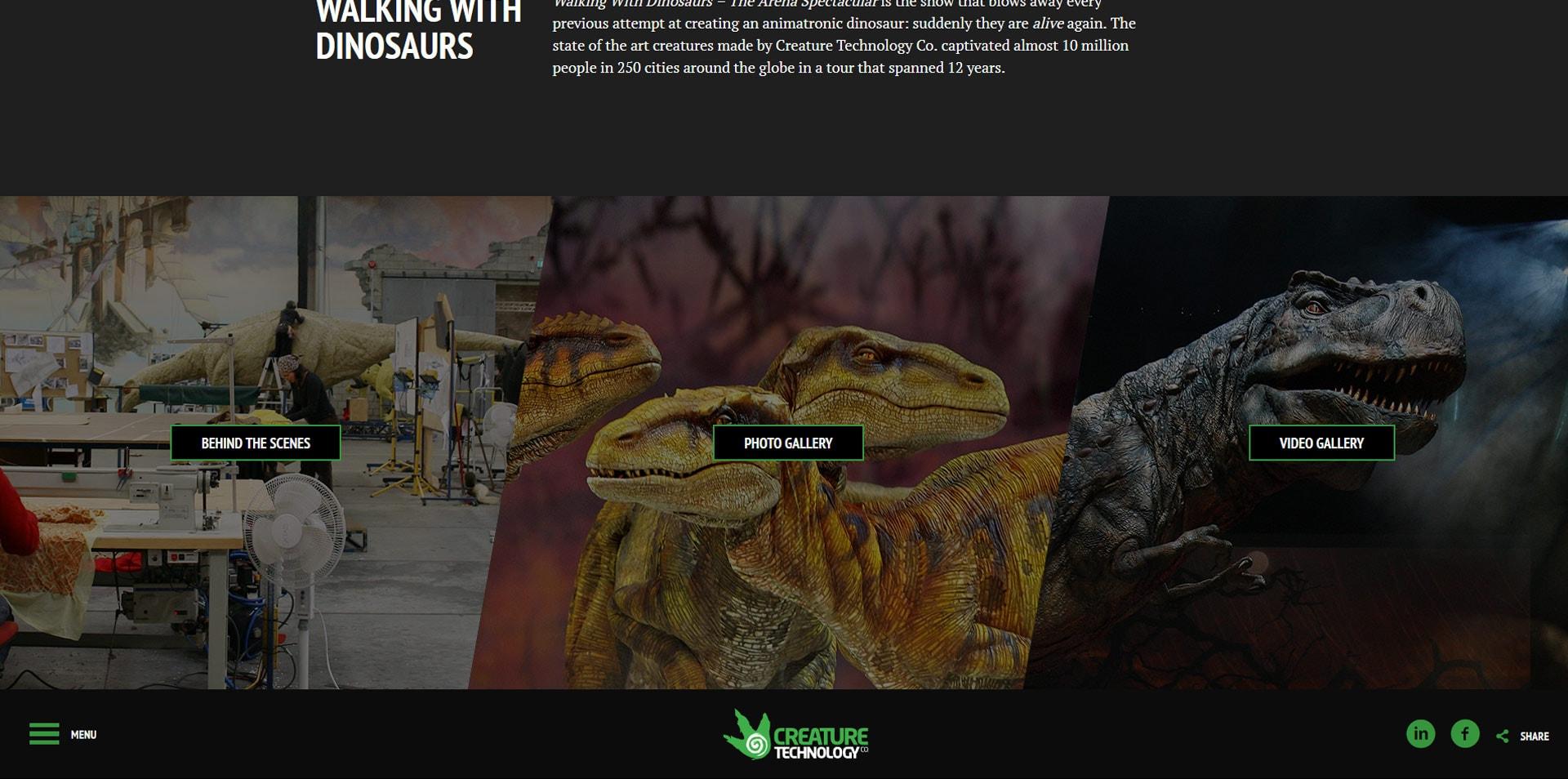 projektowanie stron www inspiracje creaturetechnology 2 - Projektowanie stron www – inspiracje dla biznesu. Czerwiec 2020