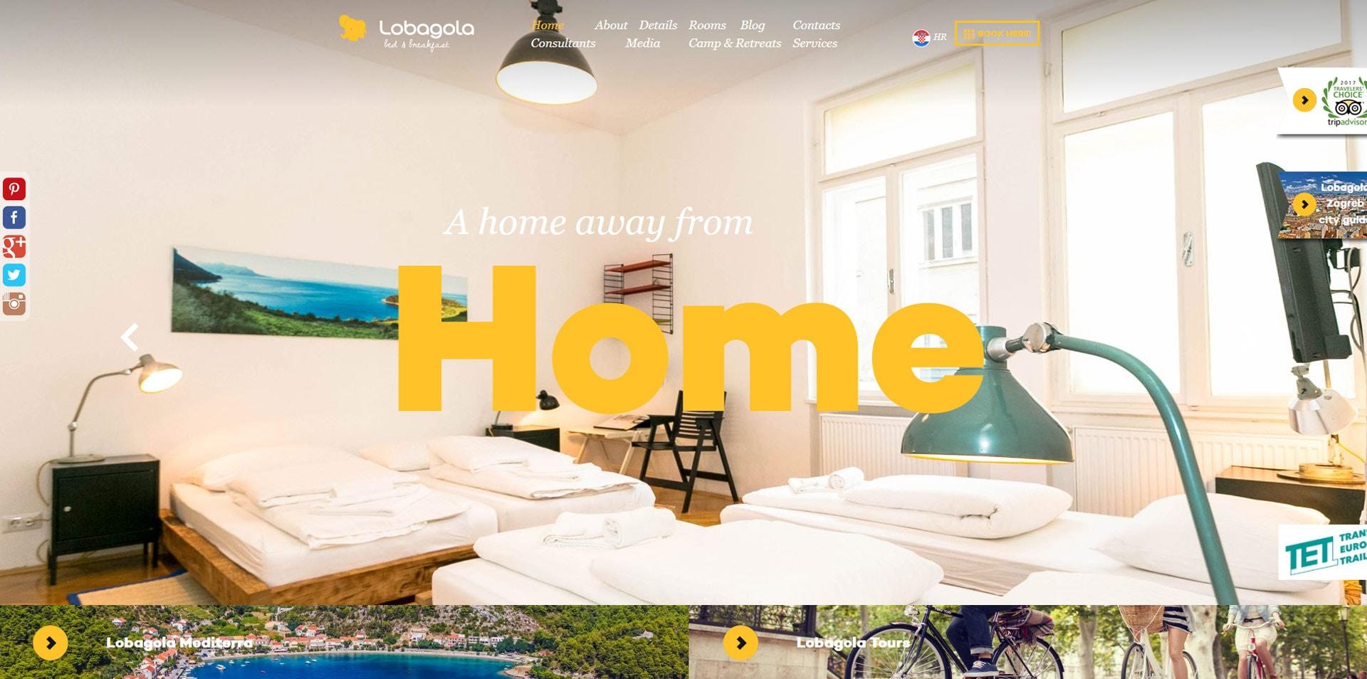 projektowanie stron www inspiracje lobagola 1 - Projektowanie stron www – inspiracje dla biznesu. Czerwiec 2020