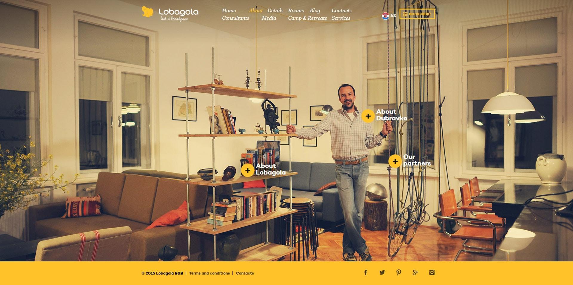 projektowanie stron www inspiracje lobagola 2 - Projektowanie stron www – inspiracje dla biznesu. Czerwiec 2020