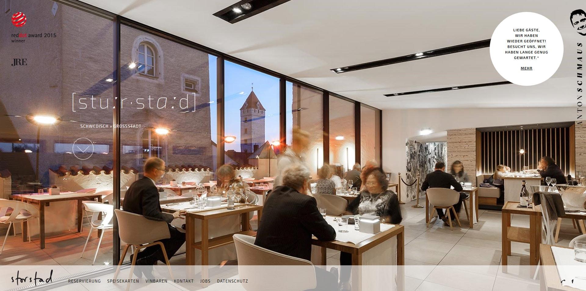 projektowanie stron www inspiracje storstad 1 - Projektowanie stron www – inspiracje dla biznesu. Czerwiec 2020