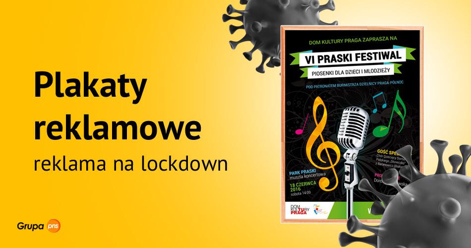 plakaty reklamowe reklama na lockdown - Plakaty reklamowe - reklama na lockdown