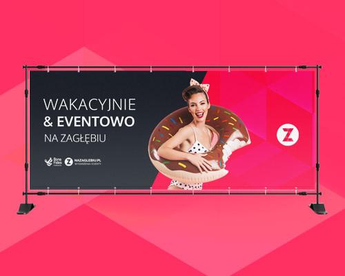 projekt graficzny baneru reklamowego nazaglebiu wakacje min - Projekt baneru reklamowego - NaZaglebiu.pl